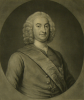 Knapton, George (1698-1778): Sir Edward Hawke (1705-1781), Knight of the most honourable order of Bath and Rear Admiral of the White Squadron of His Majesties Fleet, engraver: Mc Ardell, J., mezzotint, 35 x 25.5 cms. Presented by Alfred A. De Pass.