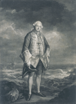 Reynolds, Sir Joshua PRA (1723-1792): The Honorable Edward Boscawen, mezzotint, 51 x 35.5 cms. Presented by Alfred A. de Pass.