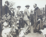 Opie, Henry: Reception in Falmouth of HRH Prince of Wales by the Mayor, publisher: Opie Ltd, photograph, 27.5 x 33.5 cms.