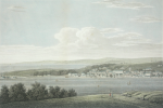 Farington, Joseph RA (1747-1821): Falmouth from Trefusis, publisher: Cadell T. and Davies W., engraver: Hay F.R., dated 1813 (Published), tinted engraving, 21 x 27.8 cms.