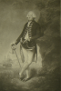 Abbott, Lemuel Francis (1760-1802): The Rt Hon Lord Hood, Admiral of the Blue and Commander in Chief of His Majesty's fleet in the Mediterranean, engraver: Green, Valentine, publisher: Abbott, Lemuel Francis (1760-1802), dated 1795, mezzotint, 65.5 x 43 cms. Presented by Alfred A. de Pass.