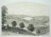 Penryn from the Old Helston Road, publisher: Gill, J. and Son, lithograph, 35 x 50.5 cms.