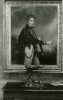 Unknown artist (19th century): Photograph of a painting (Beechey?) at De Pass's residence, Cliffe House, Falmouth, photograph, 15 x 10.5 cms. Presented by Catherine Wallace.