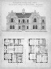 Tresidder, W.H. (Architect): The Passmore Edwards Free Library, The Municipal Buildings and School of Art, Falmouth, printer: Akerman, James, photo lithograph, 48 x 33.5.