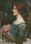 Waterhouse, John William RA (1849-1917): The Bouquet, oil on canvas, 59 x 42 cms. Presented by De Pass, Alfred A.