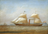 Clark, William of Greenock (1803-1883): An Early American Steamer, signed and dated 1856, oil on canvas, 37 x 55 cms. Presented by De Pass, Alfred A.