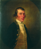 Kettle, Tilly (1735-1786): A Naval Officer, signed, oil on canvas, 75 cms x 62.5 cms.