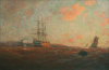 Ingram, William Ayerst (1855-1913): The Home Port, Falmouth, signed and dated 1912, oil on canvas, 158 x 218 cms. Presented by G.F.G.Pollard Esq.