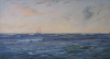 Ingram, William Ayerst (1855-1913): Schooner on the high seas, signed, oil on canvas, 109 x 200 cms. Presented by G.F.G.Pollard.