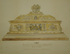 Smith, H.J.: Casket presented to the Earl of Rosebery with the honorary freedom of the Borough of Falmouth, dated 1905, watercolour and ink, 42 x 53.2 cms.