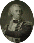 Danloux, Henri-Pierre (1753-1809): The Rt Hon Lord Keith KB, Vice Admiral of the Red, engraver: Audinet, P., dated 1801, engraving, 35 x 24.6 cms. Presented by Alfred A. De Pass.