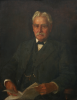 Tuke, Henry Scott, RA RWS (1858-1929): Alderman Frederick James Bowles, signed and dated 1921, oil on canvas, 91 x 70 cms. Purchased by Falmouth Town Council from the artist.