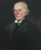 Strang, William RA (1859-1921): Dr Warre-Cornish, Vice-Provost of Eton College (1839-1916), signed, oil on canvas, 59.5 x 49.5 cms. Presented to the Corporation of Falmouth in 1923 by Alfred A. de Pass, in memory of his sons.