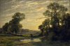 Weiss, Jose (1859-1929): Landscape near Arundel, Sussex, signed, oil on canvas, 82 x 122 cms. Presented by Alfred A. De Pass in memory of his sons.