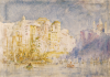 Tuke, Henry Scott, RA RWS (1858-1929): Genoa, signed and dated 1912, inscribed Genoa. H S Tuke, watercolour on card, 28 x 40 cms. Presented by Residual Legatees of H.S.Tuke Estate in 1940.