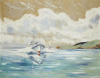 Cobb, Charles David, PRSMA (born 1921): Motor Torpedo Boats, signed, oil on canvas, 60 x 75 cms. Presented by Motor Torpedo Boats 5003,5007,5008 and 5009.