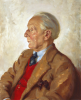 Bates, Leo Fison (1890-1957): Commander George Peckham RN, oil on canvas, 61 x 51 cms. Presented by Mrs M. Bates in 1985.