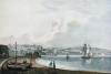 Rowe, George (1797-1864): Falmouth, tinted lithograph, 14.6 x 20.2 cms. Purchased by Falmouth Town Council.