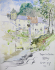 Williams, Marjorie (nee Murray 1880-1961): Sketchbook Autumn 1946 to Spring 1947 showing scenes in France, Cornwall and Ireland, dated 1946-1949, watercolour and pencil, 31 x 25 cms. Presented by Mariella Fischer-William MD.