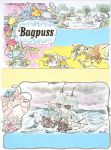 Firmin, Peter (born 1928): Tall Ship Bagpuss illustration for Pippin Comic,1976, signed and dated 1976, inscribed signed & dated, watercolour, pencil and ink, 44 x 33.1 cms.