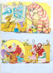 Firmin, Peter (born 1928): Bagpuss Neptune - Artwork for Pippin Comic (right hand page), author: Postgate, Oliver, signed, watercolour and pencil and ink, 43 x 32.8 cms.