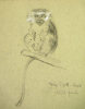 Williams, Marjorie (nee Murray 1880-1961): Sketchbook of animals at the zoo, mixed media, 30.2 x 24 cms. Presented by Mariella Fischer Williams MD in 2003.