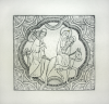 Williams, Marjorie (nee Murray 1880-1961): The Journey from Bethlehem, signed, inscribed M.W, print, 16.5 x 12.5 cms. Presented by Mariella Fischer Williams MD in 2003.