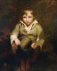Opie, John RA (1761-1807): A beggar boy, oil on canvas, 91.3 x 71.2 cms. Purchased with grant aid from the Heritage Lottery Fund, MLA/V & A Museum Purchase Fund, The Art Fund, Beecroft Bequest, Cornwall Heritage Trust and The Canterbury Auction Galleries.