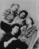 Penrose, Sir Roland (1900-1984): Lee Miller, Leonora Carrington, Ady Fidelin and Nusch Eluard, Lambe Creek, photograph, 29.3 x 23.5 cms. Purchased with grant aid from the Esmee Fairbairn Foundation in 2004. © Roland Penrose Estate. All rights reserved.