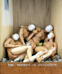 Spooner, Paul (born 1948): The moment of ovulation, automaton, 33 x 24 x 22 cms. Commissioned with grant-aid from the Esmee Fairbairn Foundation in 2004.