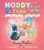 Tyndall, Robert: Artwork for cover of Noddy's own Nursery Rhymes by Enid Blyton - A Nursery Colour Picture Book, 1959, 30.6 x 28.5 cms. Purchased with funding from Falmouth Decorative Fine Art Society. Enid Blyton (R) Noddy (R) Classic Media Distribution Limited. All rights reserved.