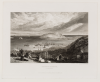 Turner, Joseph Mallord William RA (1775-1851): Falmouth Harbour, Cornwall, publisher: Murray, John, engraver: Cooke, W.B, dated March 1st 1816, Line engraving, 23.5 x 29.5 cms.