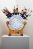 Newstead, Keith (born 1956): God's wonderful railway, automata, 59 cms high. Funding from Brunel 200, an initiative of Bristol Cultural Development Partnership - Arts Council England South West, Heritage Lottery Fund, Bristol City Council and Business West. Commission.