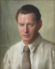 Jameson, Frank (1899-1968): Self portrait, oil on canvas, 51 x 41 cms. Presented by Kym Hughes in memory of his parents Grace and Thomas Hughes.
