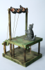 Evans, Susan (born 1950): Cats and birds, automata, 38 cms high.