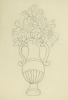 Williams, Marjorie (nee Murray 1880-1961): Vase design, pencil on paper, 37.8 x 28 cms. Presented by Dr Mariella Fischer-Williams.