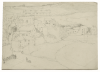 Williams, Marjorie (nee Murray 1880-1961): A village, pencil on paper, 18 x 24.8 cms. Presented by Dr Mariella Fischer-Williams.