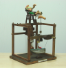 Zapata, Carlos (born 1963): The Tickling Machine, signed and dated 2005, automaton, 50 x 32 x 34 cms.
