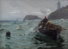 Hemy, Charles Napier RA RWS (1841-1917): Along shore fishermen, signed and dated 1890, oil on canvas, 56 x 76.2 cms. Purchased with funding from the Art Fund and MLA/V&A Purchase Grant Fund.
