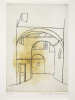 MacKenzie, Alexander (1923-2002): Lucca, printer: Stoneman, Hugh (1947-2005), publisher: Austin Desmond, signed and dated 2002, etching and aquatint (printer's proof 1), 41.3 x 38.4 cms. The Art Fund Hugh Stoneman Archive.