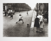 Mayne, Roger (born 1929): Footballers, Southam Street, 1956, printer: Stoneman, Hugh (1947-2005), publisher: The Notting Hill Improvements Group, signed, photogravure (printer's proof 1) published 2005, 57 x 70.5 cms. The Art Fund Hugh Stoneman Archive.