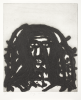 Rees, Michael (born 1962): Bog Man, printer: Stoneman, Hugh (1947-2005), signed and dated 1997, etching (printer's proof), 44.6 x 37 cms. The Art Fund Hugh Stoneman Archive.