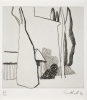 Southall, Andrew: From Black and White of Brick and Bark, printer: Stoneman, Hugh (1947-2005), publisher: The Print Centre, signed and dated 1991, etching (number 23 of an edition of 35), 45.5 x 38.2 cms. The Art Fund Hugh Stoneman Archive.