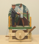 Newstead, Keith (born 1956): Tuke's cottage at Pennance, signed and dated 2008, automaton, 39.5 cms high. Purchased with funding from the Heritage Lottery Fund.