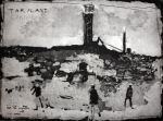 Jackson, Kurt (born 1961): The Tar Plant, Carnsew Quarry, signed and dated 1998, etching, 37.5 x 51 cms. Presented by Kurt and Caroline Jackson.