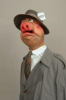 Fluck, Peter and Law, Roger: Press pig - a Spitting Image puppet, Mixed media, 157 cms high. Purchased with funding from the Heritage Lottery Fund as part of the Darwin 200 celebrations.