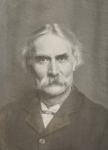 Unknown artist: Portrait of Charles Napier Hemy RA RWS (1841-1917), signed, photograph, 18 x 13.5 cms.