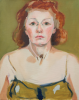 Gardner, Grace (1920-2013): Self portrait using Sir Joshua Reynold's palette for flesh, oil on canvas, 51 x 41 cms. The Grace Gardner Gift.