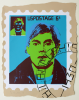 Foster, Tony (born 1946): Hero Stamps - Andy Warhol 3, signed and dated 1978, screenprint (9 of an edition of 12), 41 x 33 cms.