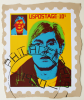 Foster, Tony (born 1946): Hero Stamps - Andy Warhol 4, signed and dated 1978, screenprint (9 of an edition of 12), 41 x 33 cms.